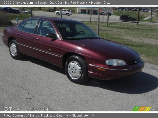 dark carmine red metallic 2000 chevrolet lumina sedan. Black Bedroom Furniture Sets. Home Design Ideas