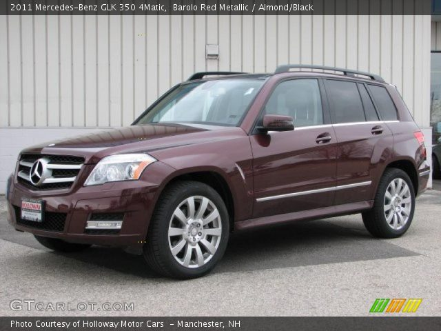 Barolo Red Metallic 2011 Mercedes Benz Glk 350 4matic