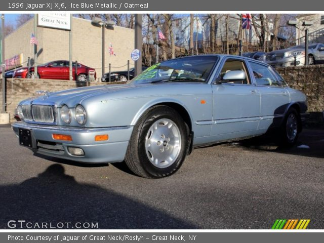 1996 Jaguar XJ XJ6 In Ice Blue Metallic