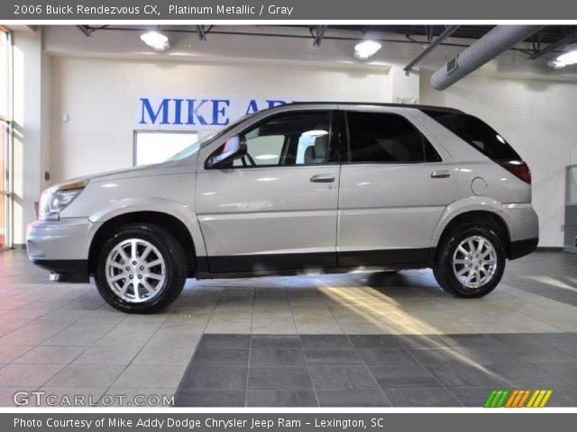 2006 Buick Rendezvous CX in Platinum Metallic