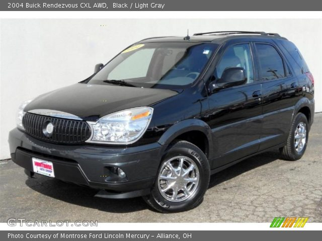 black 2004 buick rendezvous cxl awd light gray interior. Cars Review. Best American Auto & Cars Review
