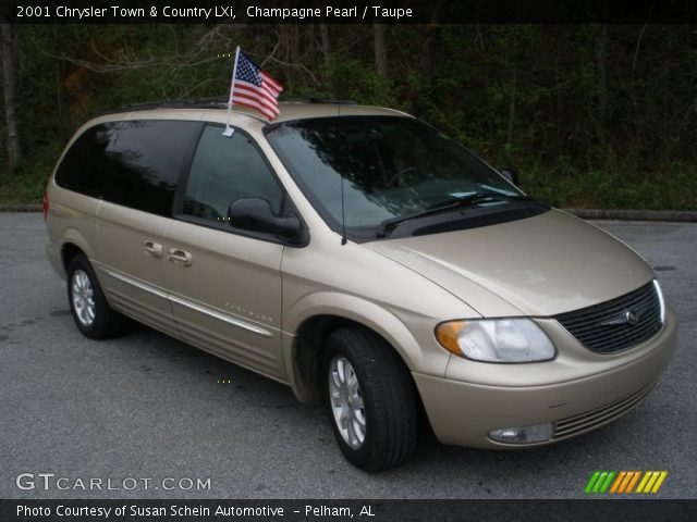 Champagne pearl 2001 chrysler town country lxi taupe - 2001 chrysler town and country interior ...