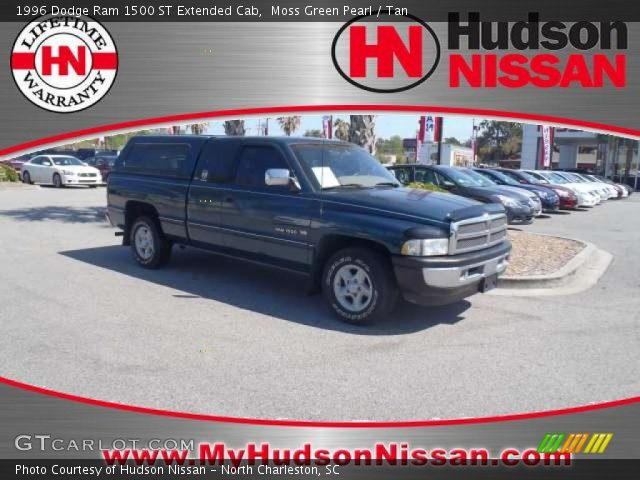 Moss Green Pearl 1996 Dodge Ram 1500 St Extended Cab