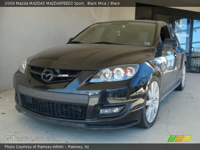 black mica 2009 mazda mazda3 mazdaspeed3 sport black. Black Bedroom Furniture Sets. Home Design Ideas