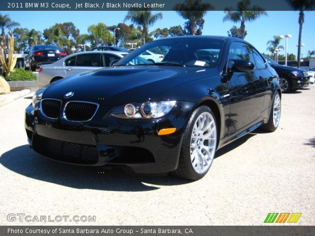 2011 BMW M3 Coupe in Jet Black