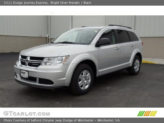 bright silver metallic 2011 dodge journey express. Black Bedroom Furniture Sets. Home Design Ideas