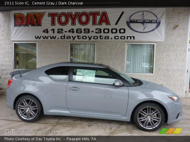 2011 Scion tC  in Cement Gray