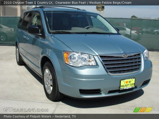 2010 Chrysler Town & Country LX in Clearwater Blue Pearl