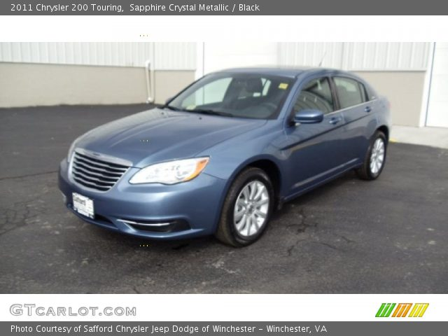 2011 Chrysler 200 Touring in Sapphire Crystal Metallic