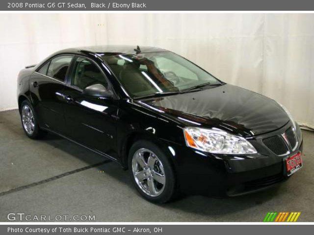 black 2008 pontiac g6 gt sedan ebony black interior vehicle archive 47445213. Black Bedroom Furniture Sets. Home Design Ideas