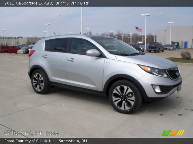 2011 Kia Sportage SX AWD in Bright Silver