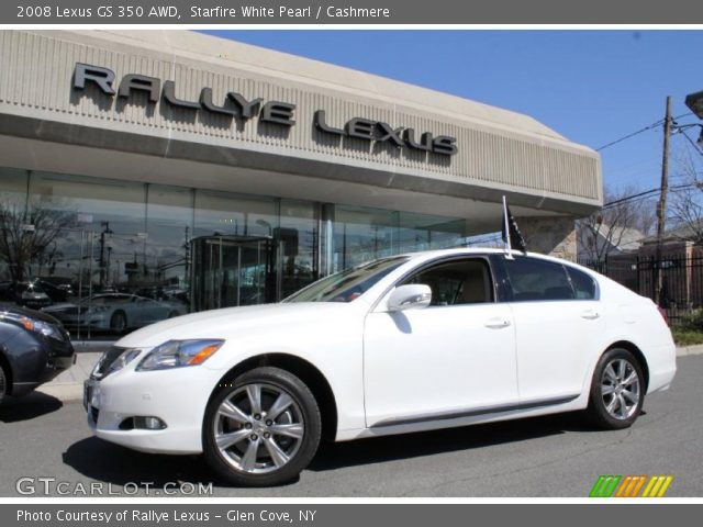 starfire white pearl 2008 lexus gs 350 awd cashmere interior vehicle. Black Bedroom Furniture Sets. Home Design Ideas