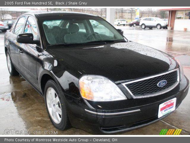 black 2005 ford five hundred se shale grey interior vehicle archive 47539011. Black Bedroom Furniture Sets. Home Design Ideas