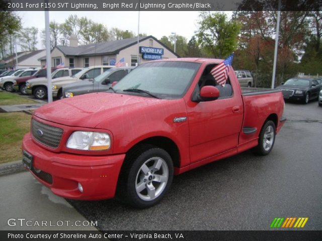 2001 Ford F150 SVT Lightning in Bright Red