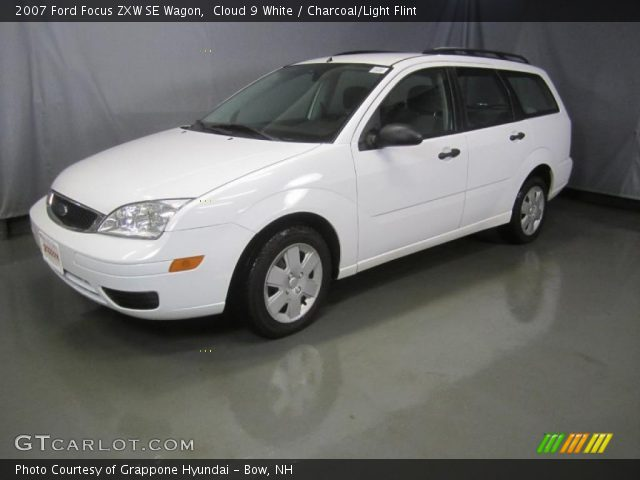 cloud 9 white 2007 ford focus zxw se wagon charcoal. Black Bedroom Furniture Sets. Home Design Ideas