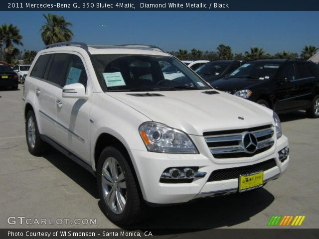 2011 Mercedes-Benz GL 350 Blutec 4Matic in Diamond White Metallic