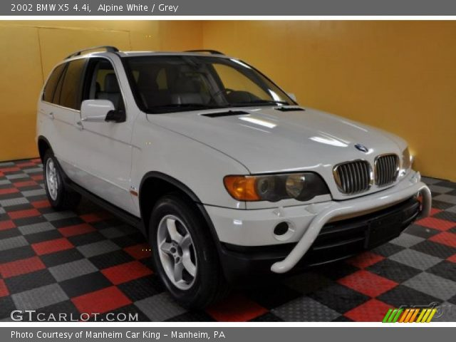 alpine white 2002 bmw x5 grey interior gtcarlot. Black Bedroom Furniture Sets. Home Design Ideas