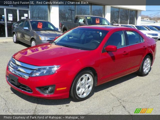 Candy Red Metallic Ford Fusion