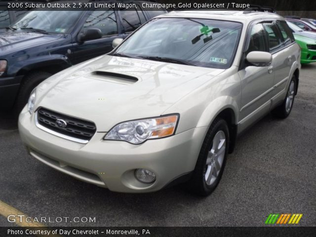 champagne gold opalescent 2006 subaru outback 2 5 xt limited wagon taupe interior gtcarlot. Black Bedroom Furniture Sets. Home Design Ideas