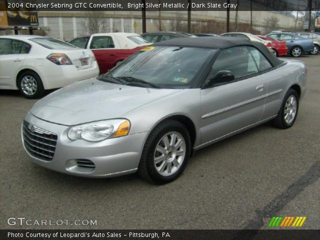 2004 chrysler sebring gtc convertible in bright silver metallic click. Cars Review. Best American Auto & Cars Review