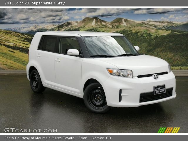 2011 Scion xB  in Super White