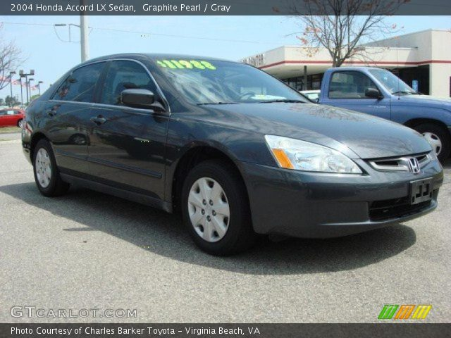 2004 honda accord lx sedan in graphite pearl click to see large photo. Black Bedroom Furniture Sets. Home Design Ideas
