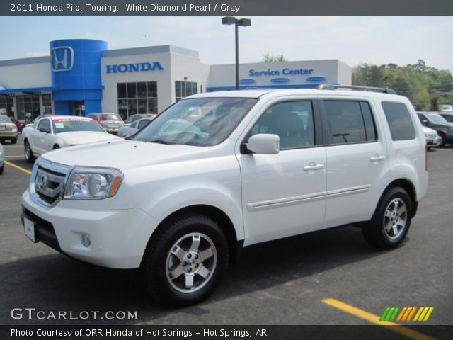 2011 Honda Pilot Touring in White Diamond Pearl