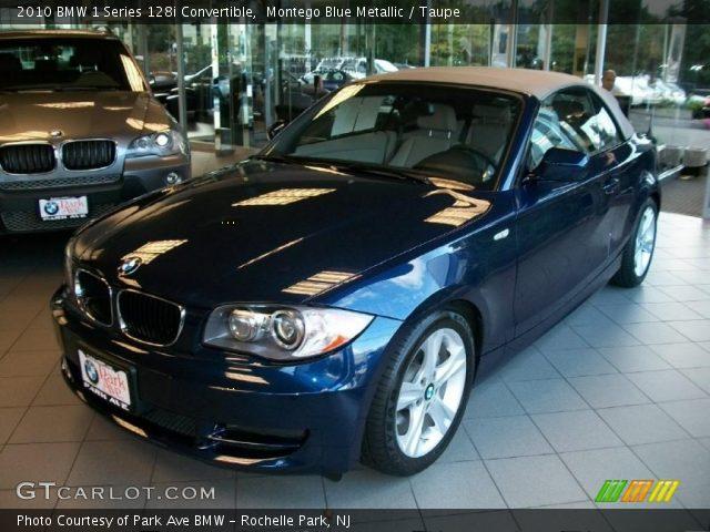 2010 BMW 1 Series 128i Convertible in Montego Blue Metallic
