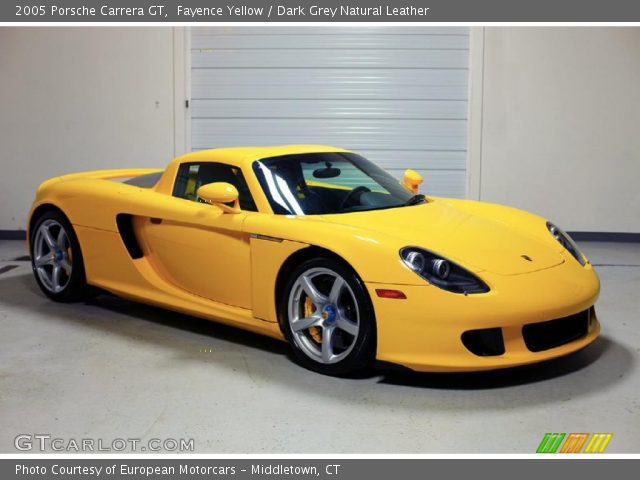 2005 Porsche Carrera GT  in Fayence Yellow