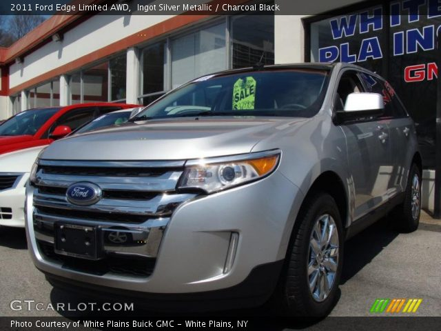 ingot silver metallic 2011 ford edge limited awd. Black Bedroom Furniture Sets. Home Design Ideas