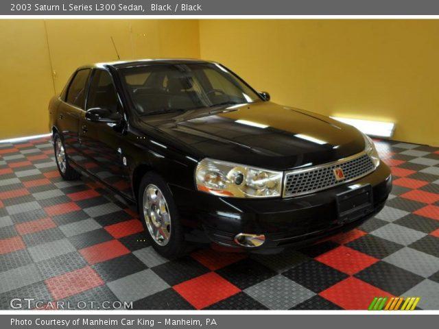 2003 Saturn L Series L300 Sedan in Black