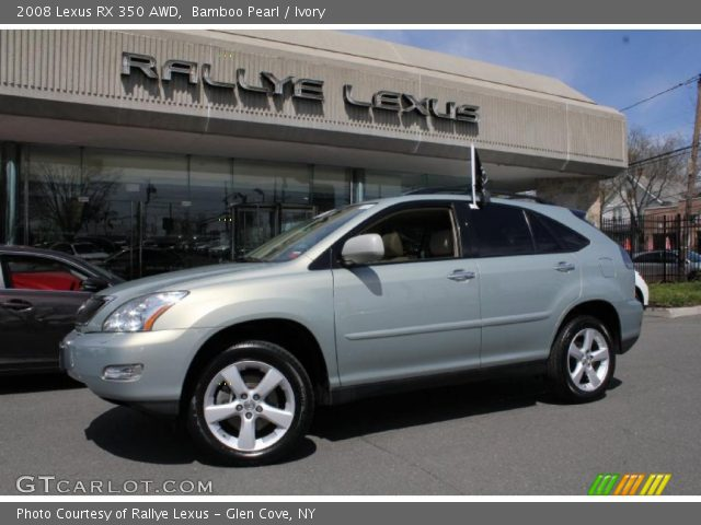 bamboo pearl 2008 lexus rx 350 awd ivory interior vehicle archive 48025767. Black Bedroom Furniture Sets. Home Design Ideas