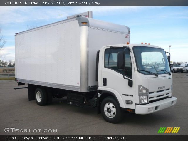 2011 Isuzu N Series Truck NPR HD in Arctic White