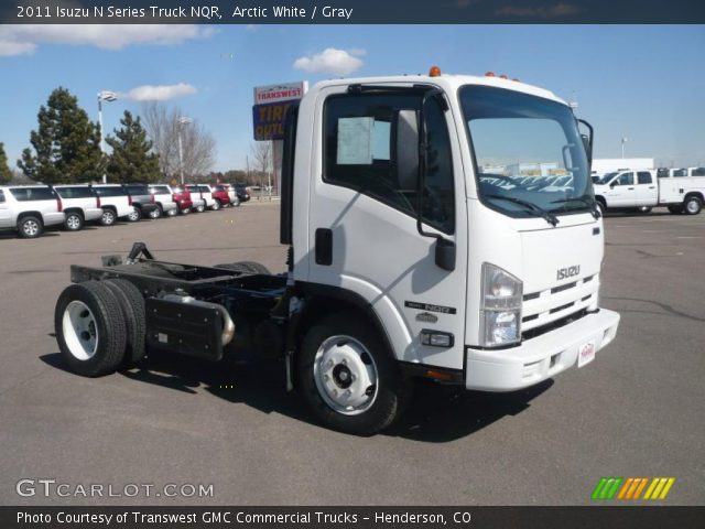 2011 Isuzu N Series Truck NQR in Arctic White