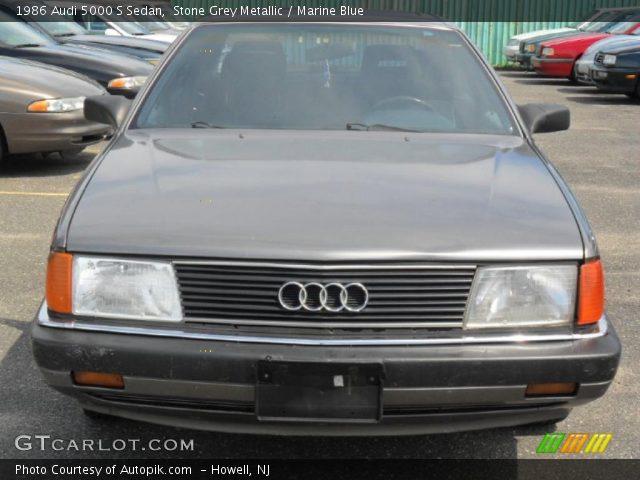 1986 Audi 5000 S Sedan in Stone Grey Metallic