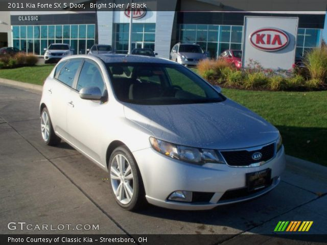 2011 Kia Forte SX 5 Door in Bright Silver