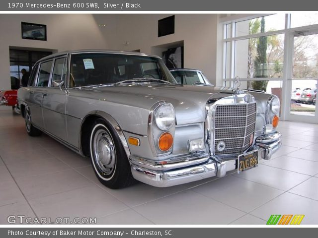 1970 Mercedes-Benz 600 SWB in Silver