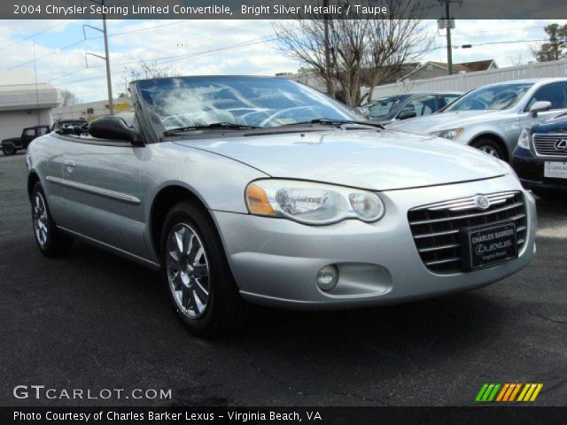 bright silver metallic 2004 chrysler sebring limited. Black Bedroom Furniture Sets. Home Design Ideas