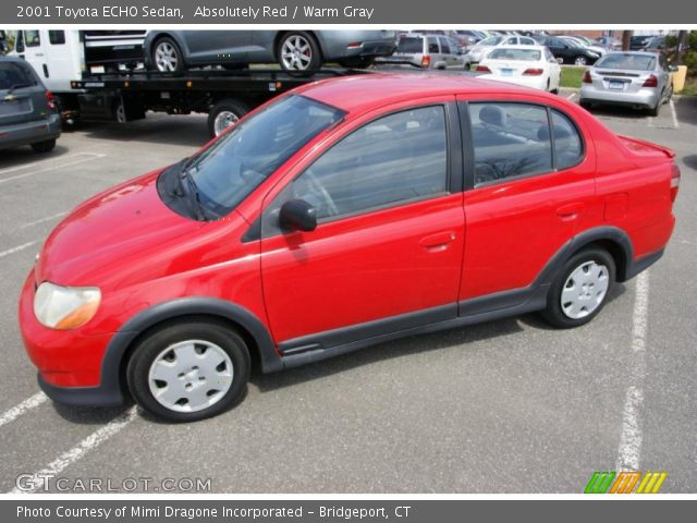 absolutely red 2001 toyota echo sedan warm gray interior vehicle archive. Black Bedroom Furniture Sets. Home Design Ideas