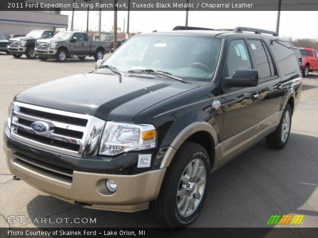 tuxedo black metallic 2011 ford expedition el king ranch. Black Bedroom Furniture Sets. Home Design Ideas