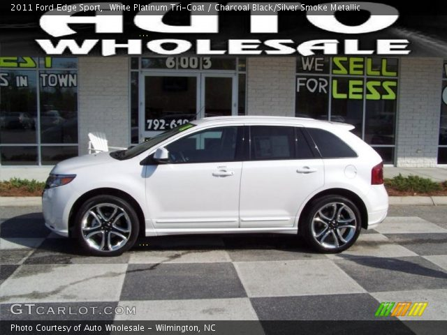 2011 Ford Edge Sport in White Platinum Tri-Coat
