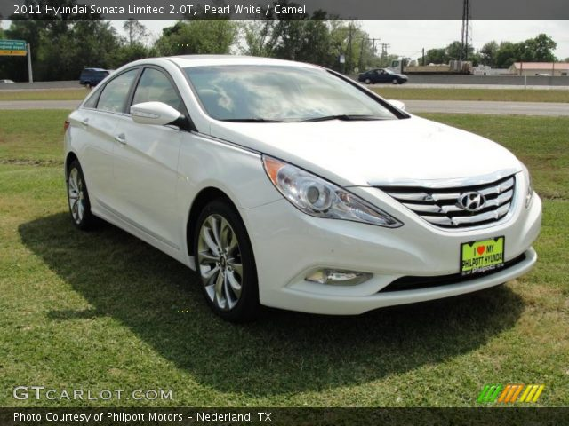 2011 Hyundai Sonata Limited 2.0T in Pearl White