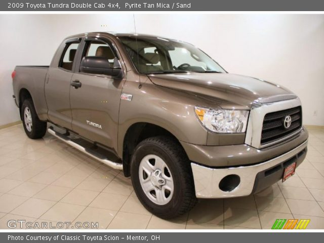 pyrite tan mica 2009 toyota tundra double cab 4x4 sand. Black Bedroom Furniture Sets. Home Design Ideas