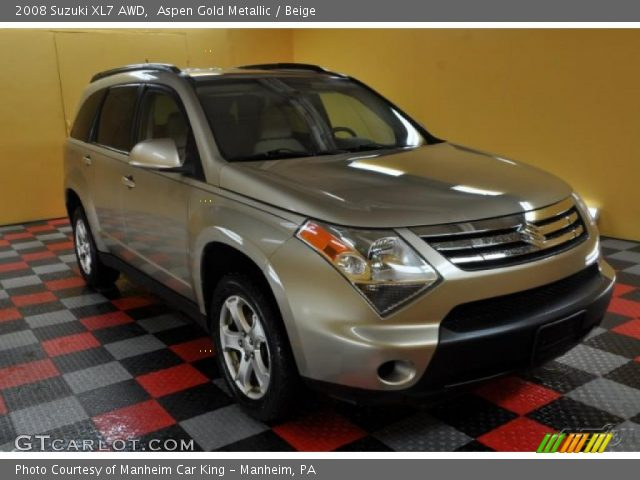 2008 Suzuki XL7 AWD in Aspen Gold Metallic
