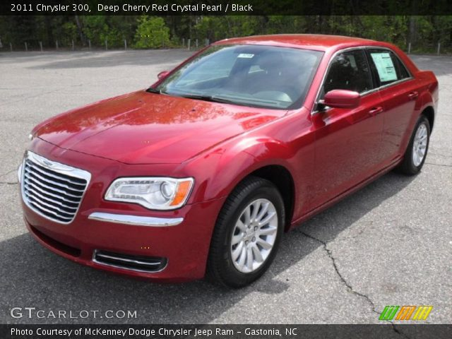 2011 Chrysler 300  in Deep Cherry Red Crystal Pearl