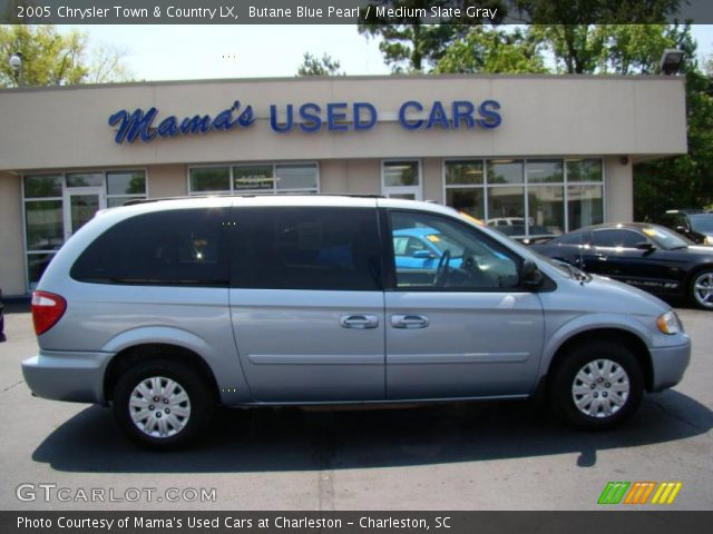 Butane blue pearl 2005 chrysler town country lx for Stone s town country motors