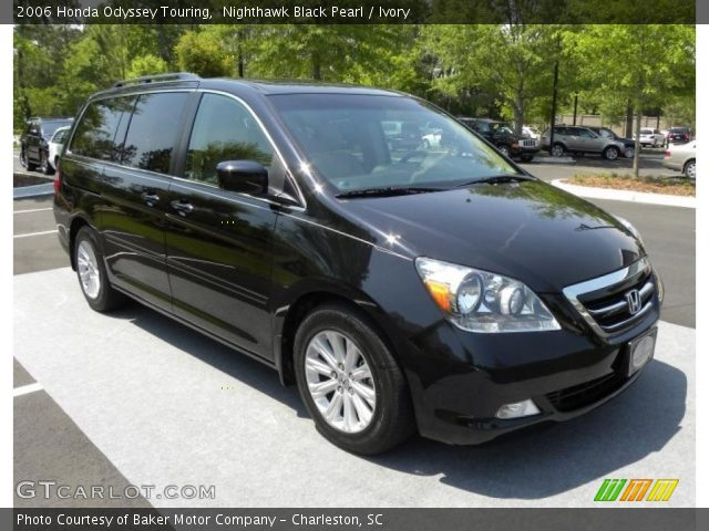 2006 Honda Odyssey Touring in Nighthawk Black Pearl
