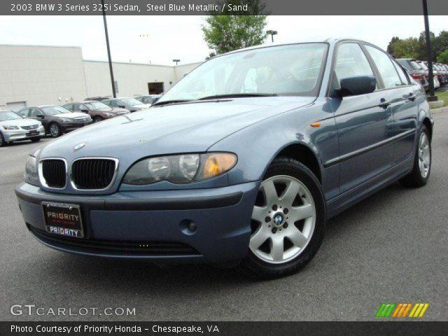 steel blue metallic 2003 bmw 3 series 325i sedan sand interior vehicle. Black Bedroom Furniture Sets. Home Design Ideas