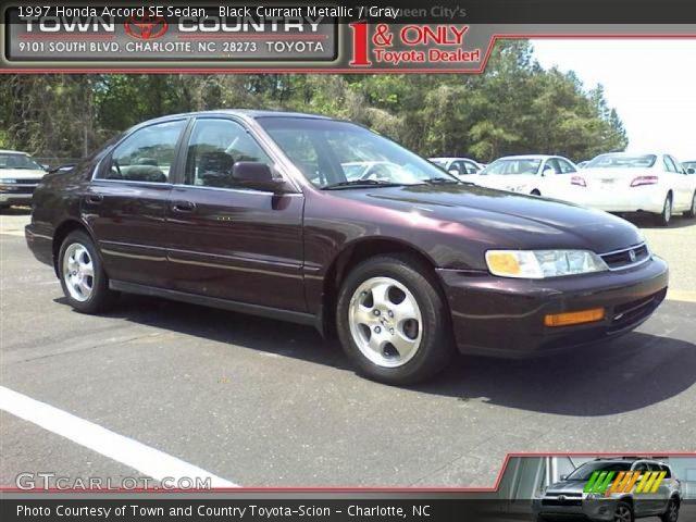 1997 Honda Accord SE Sedan in Black Currant Metallic