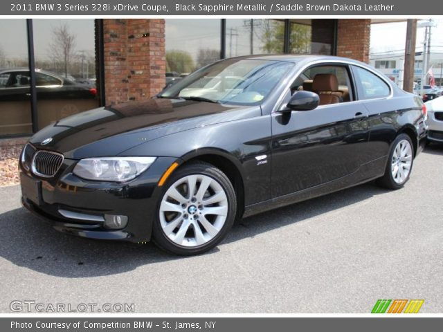 2011 BMW 3 Series 328i xDrive Coupe in Black Sapphire Metallic